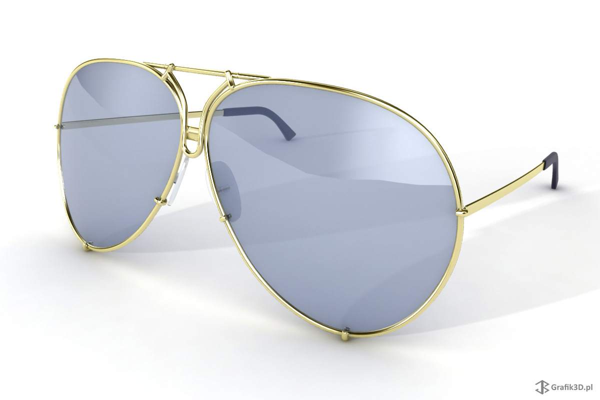 Model 3d okularów Porshe Design