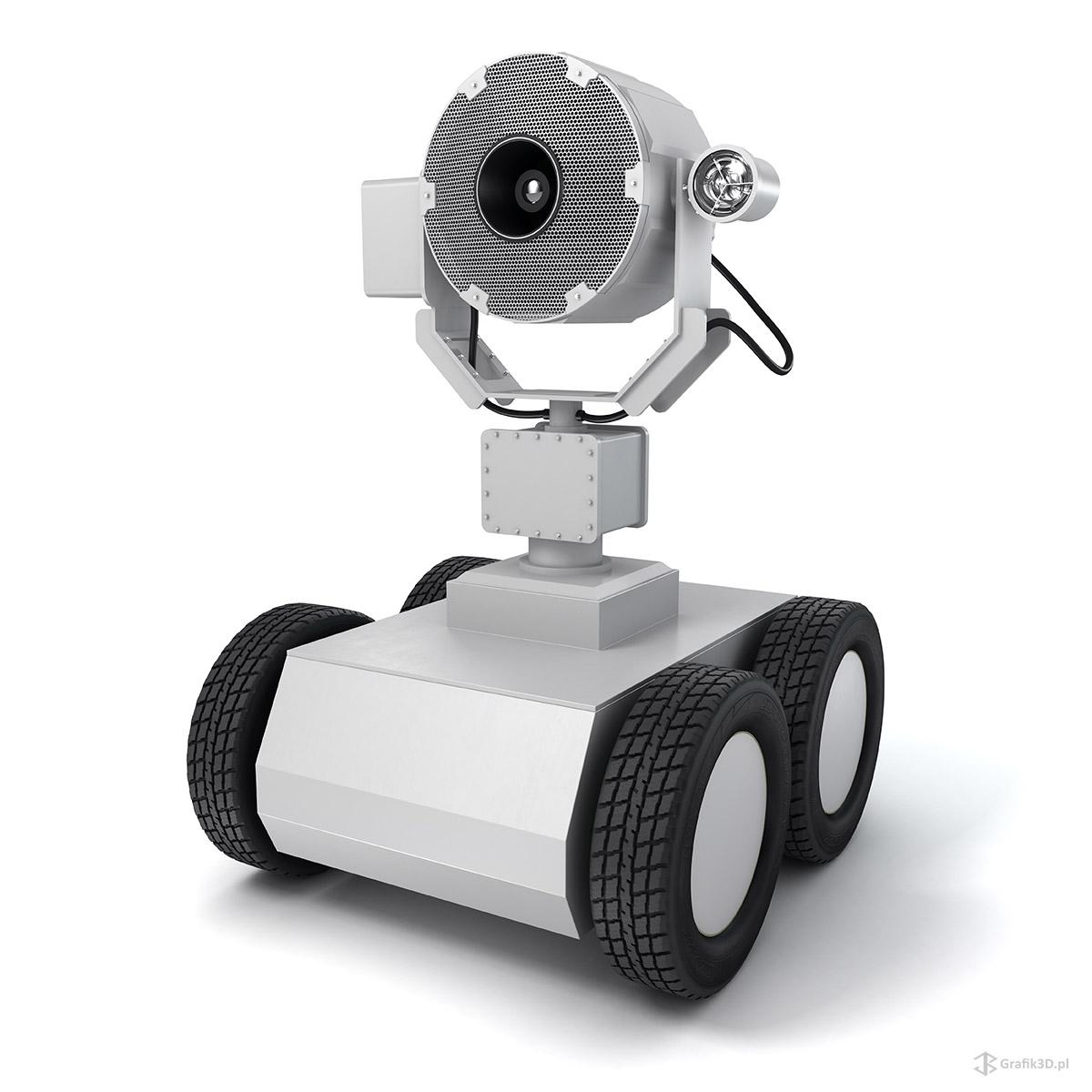 Robot ochrony obwodowej